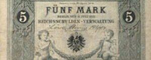 Der erste Reichskassenschein