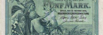 Reichskassenschein 1904