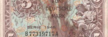 Deutsche Mark: Währungsreform in den drei westlichen Besatzungszonen