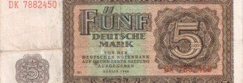 Deutsche Mark der Deutschen Notenbank (MDM)