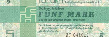 Forumscheck in der DDR