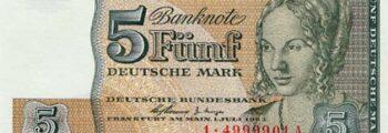 Deutsche Mark der Deutschen Bundesbank, Serie II (Ersatzbanknoten für Westberlin)
