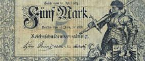 Reichskassenschein 1882
