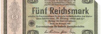 Konversionskasse für deutsche Auslandsschulden