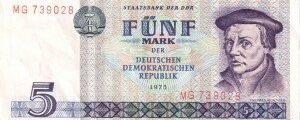 Mark der Deutschen Demokratischen Republik